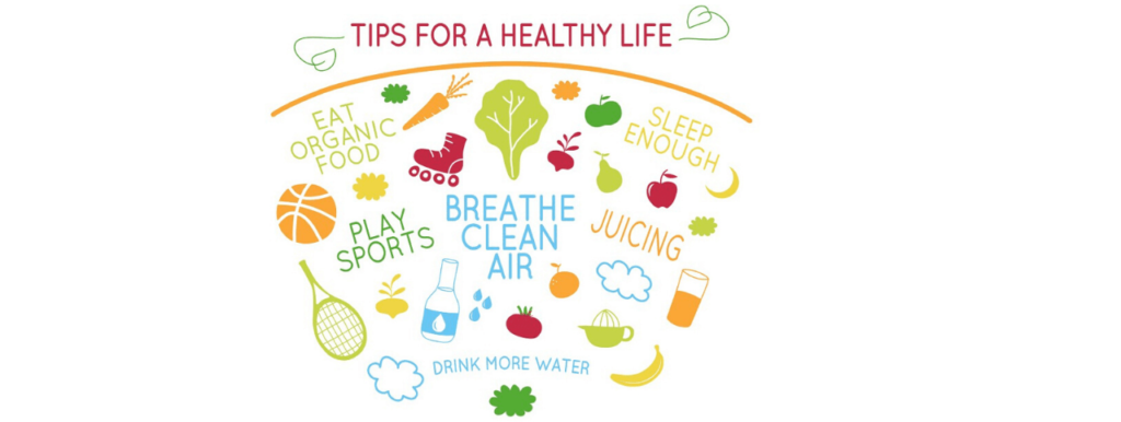 Eat Healthy and Perform Physical Exercise
