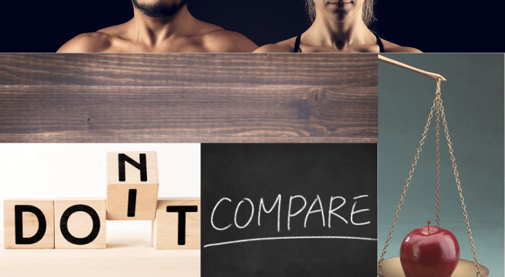 Don't Compare with Others to Improve