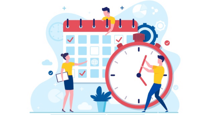 Clock Time vs Real time: Time management activities