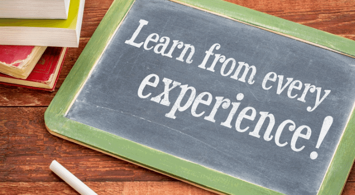 Learn through Your Experiences