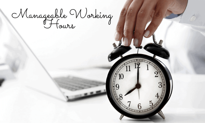 Manageable Working Hours working remotely pros and cons