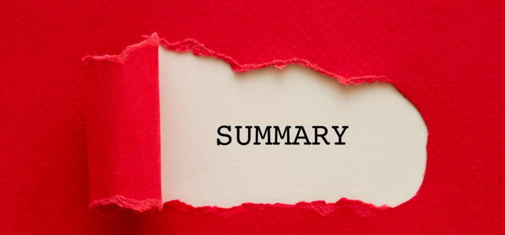 Report A Short Summary at The End of The Day