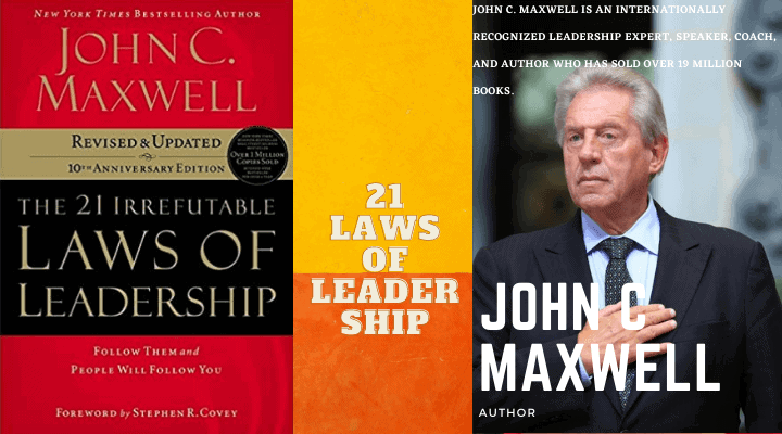 The Most Important 8 Laws from the Book- 21 Laws of Leadership