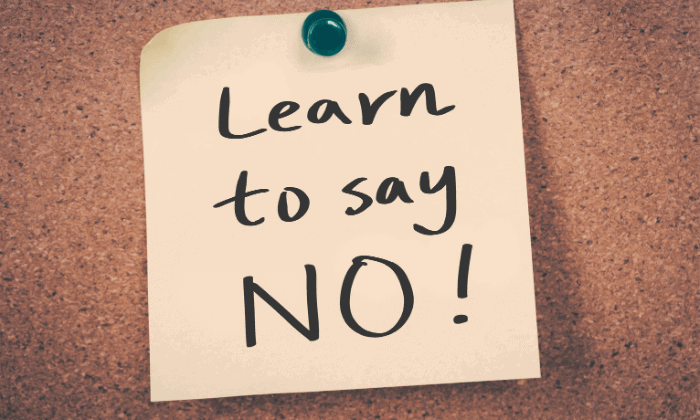 """How to Get Work Done Efficiently: Try to """"Say No"""""""