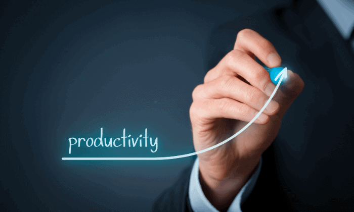 Increased Productivity project management software benefits