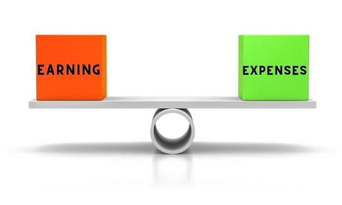 Balance Between Your Earning and Expenditure