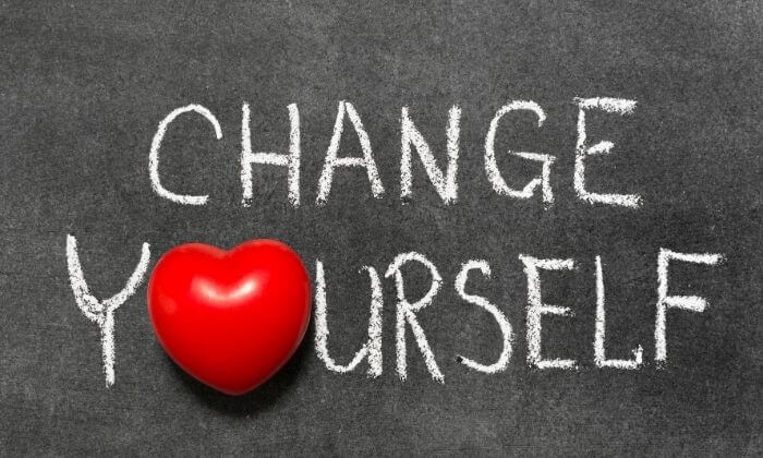 Change Yourself, Instead of the World