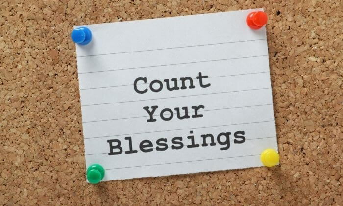 Count Your Blessings and Joys to Change Your Mentality