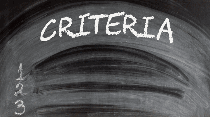 Joining Criteria of the Challenge