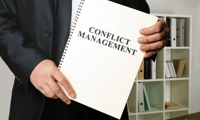 Management of  Conflicts