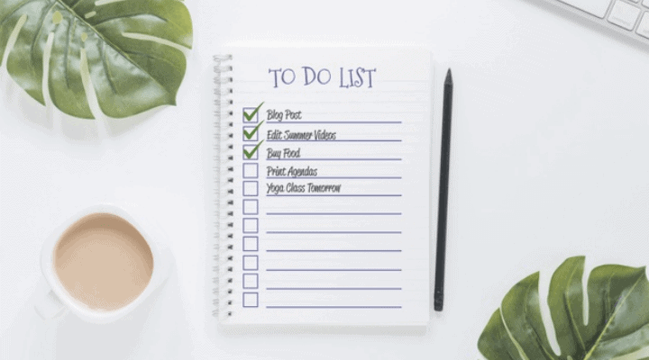 stay focused with to do list