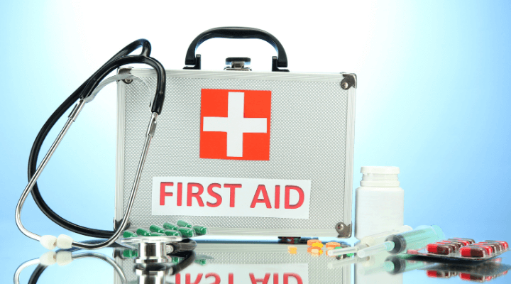 Arranging First-aid box