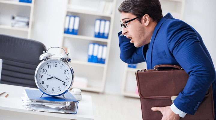 Inefficiency in Time Management and Self-Control