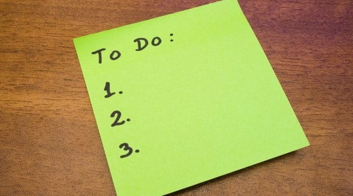 Create a To-Do List and Clinch to It