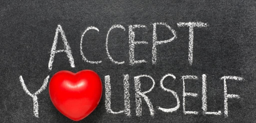 Accept Yourself Including Your Flaws and Mistakes