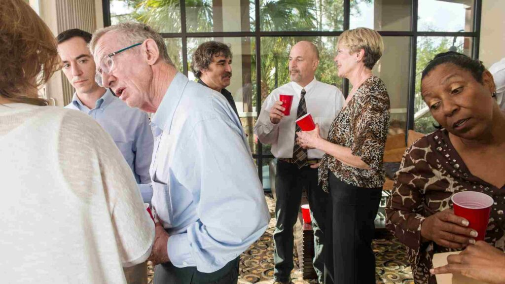 How to Network efficiently at an Event